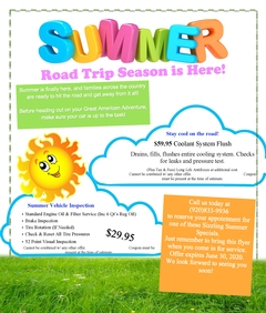 Summer Road Trip Season is Here!