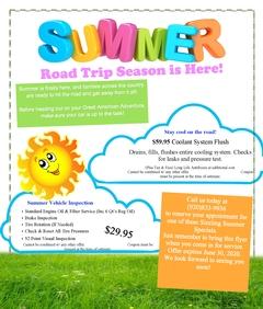 Summer Road Trip Season is Here!
