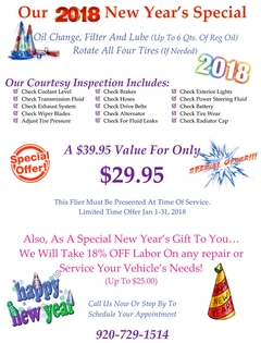 2018 New Year's Special